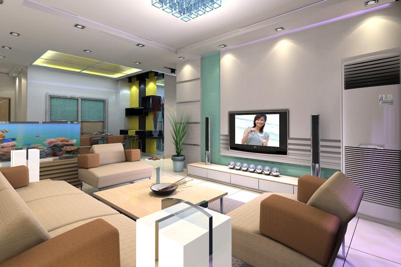 Custom furniture, lighting, audio-visual